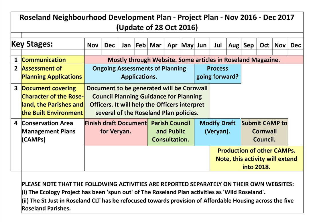 Implementation project plan the roseland plan for Project activity plan template